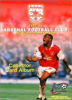 Arsenal Fans' Selection 1997/98 - Cards - Angleterre