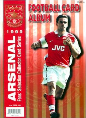 Arsenal Fans' Selection 1999 - Cards - Angleterre