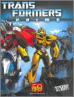 Transformers Prime - Sticker Album - Panini - 2011