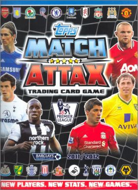Match Attax 2011-2012 – Trading Cards - Angleterre