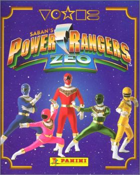 Power Rangers Zéo - Sticker Album - Panini - 1996