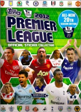 Premier League 2012 - Topps - Angleterre