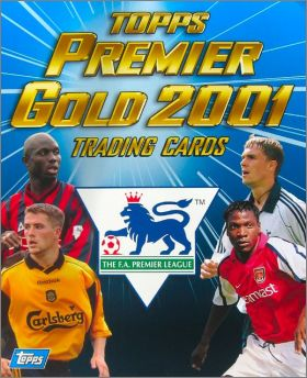 Premier Gold 2001 - Topps -  Trading Cards - Angleterre