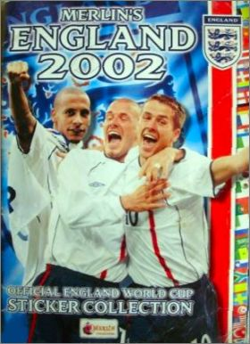 Merlin's England 2002 - Official England World Cup