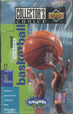 NBA Basketball Collector's Choice 1995-96 - Série 2