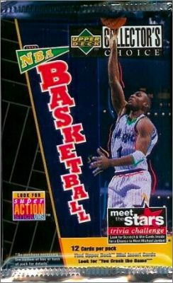 NBA Basketball Collector's Choice 1996-97 - Série 2