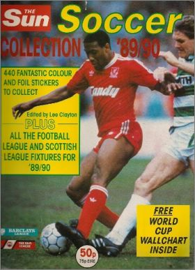 The Sun Soccer Collection 89/90 - Euroflash - Angleterre