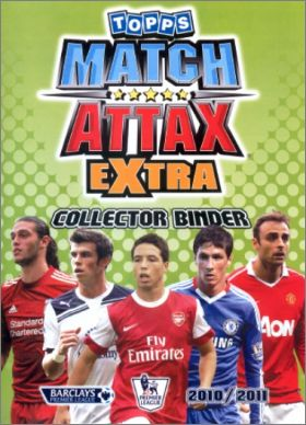 Match Attax Extra 2010-2011 – Trading Cards - Angleterre