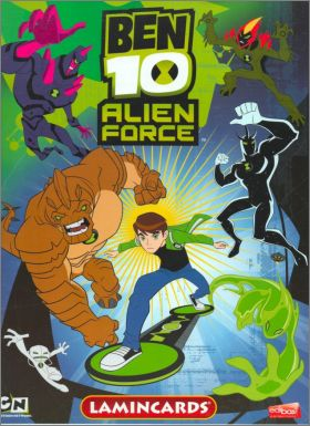 Ben 10 Alien Force - Lamincards Edibas - Italie