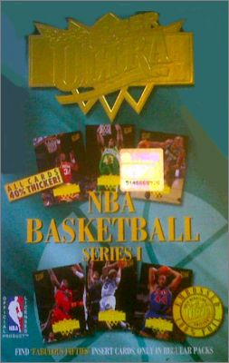 NBA Basketball  95'96 - Fleer Ultra series 1 - Angleterre