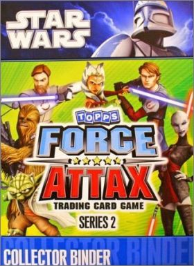 Star Wars Force Attax series 2 - Tradings cards- Anglais