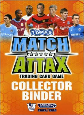 Match Attax 2009/2010 - Trading Cards - Angleterre