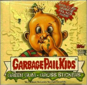 Garbage Pail Kids série 1 - Topps Chewing Gum
