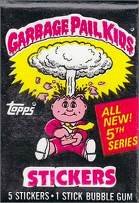Garbage Pail Kids série 5 - Topps Chewing Gum