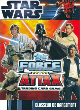 Star Wars Force Attax Movie - Tradings cards - Topps Anglais
