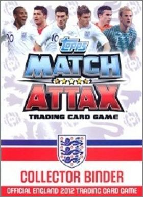 Match Attax England 2012 - Trading Card Game - Angleterre