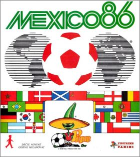 Mexico 86 - World Cup - Yougoslavie - Figurine Panini