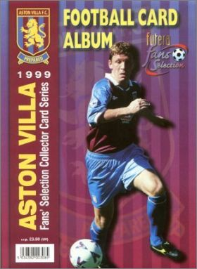 Aston Villa Fans' Selection 1999 - Cards - Angleterre