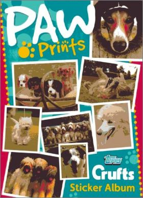 Paw Prints -Topps Crufts - Sticker Album - Angleterre - 2011