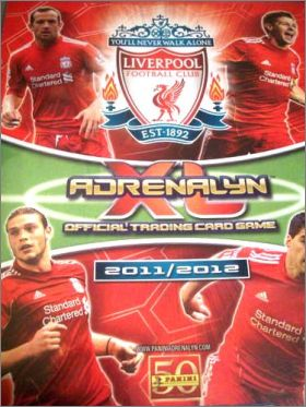 Liverpool FC Adrenalyn XL 2011/2012 - Trading Card - Anglet.