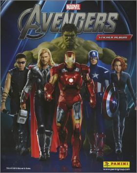 Avengers - Marvel - Sticker Album - Panini