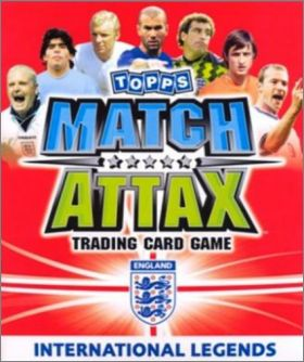 Match Attax - International Legends - Topps - Angleterre