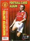 Manchester United Football Card Album - 1999 - Futera