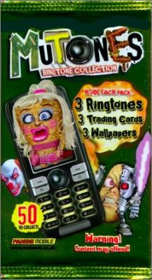 Mutones Ringtone Collection 2008 Trading Card Panini Mobile