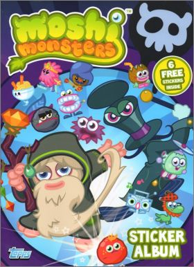 Moshi Monsters (2012) - Stickers Album - Topps - Angleterre