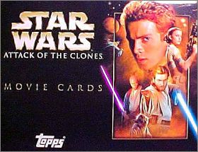 Star Wars Attack of the Clones - Movie Cards - Topps - UK