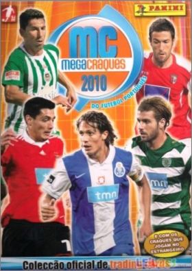 Megacraques 2010 - Trading Cards - Panini - Portugal