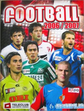 Football 2006/2007 - Teleclub - stickers.ch - Suisse
