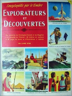Explorateurs et Découvertes Encyclopedie par le Timbre N°18