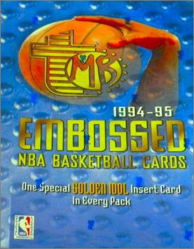 NBA Basketball 1994-95 - Embossed - Cards Topps - USA