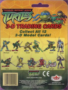 Teenage Mutant Ninja Turtles 3D Trading Cards