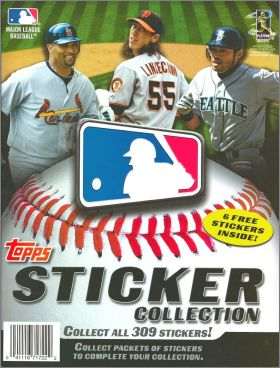 Major League Baseball Sticker Collection 2011 -  Topps - USA