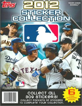 Major League Baseball Sticker Collection 2012 -  Topps - USA