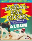 Baseball  Star Sticker Album 1985 - Fleer USA/Canada
