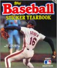 Baseball Sticker Yearbook 1985 Edition - Topps - USA/Canada