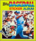 Baseball Sticker Album 1981 First Edition Topps - USA/Canada