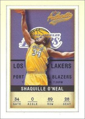 2001-02 Fleer Authentix NBA Basketball - USA