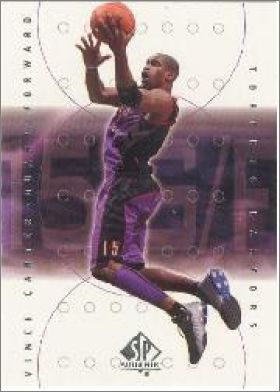 2000-01 Upper Deck SP Authentic NBA Basketball - USA