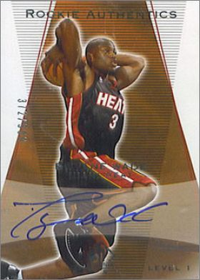 2003-04 Upper Deck SP Authentic NBA Basketball - USA