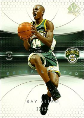 2004-05 Upper Deck SP Authentic NBA Basketball - USA