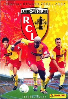 Racing Club de Lens - Collection Officielle 2001-2002
