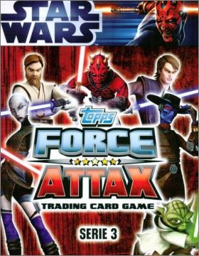 Star Wars Force Attax series 3 - Tradings cards - Anglais