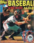 Baseball Sticker Album 1982 - USA / Canada