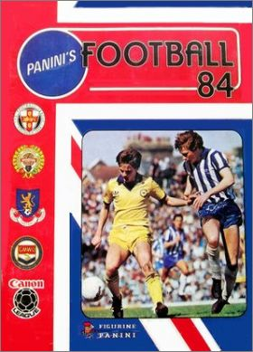 Football 84 - Figurine Panini - Angleterre