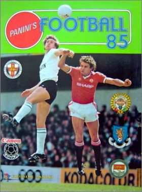 Football 85 - Figurine Panini - Angleterre