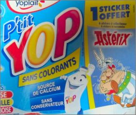 Astérix - P'tit Yop de Yoplait - France - 2012